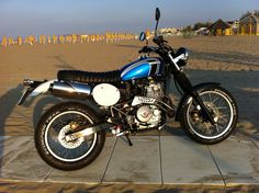 special srambler anni 70 - Honda Dominator