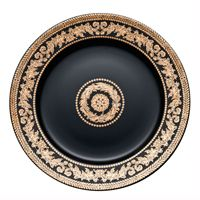 Rosenthal Versace 20 Years Plate Collection Wall Plate 'Gold Baroque' 30 cm