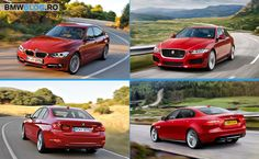 Comparativ foto: noul Jaguar XE vs BMW Seria 3 Sedan
