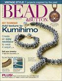 Twisted tubular herringbone video tutorial from Bead & Button