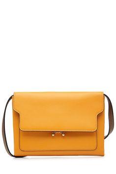 MARNI Leather Shoulder Bag. #marni #bags #shoulder bags #leather #