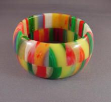 Bakelite bracelet ~ vintage jewelry