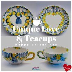 Love S, Tea Cups, Valentines, Happy, Velentine Day, Valentine's Day Diy, Valentine's Day, Valentine Craft, Happiness