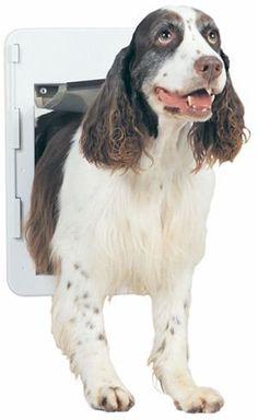 $39.44-$44.99 PetSafe Quick-Fit Pet Door, Medium, White - White Premium Quick Fit Pet Door-Medium http://www.amazon.com/dp/B0009YYOAY/?tag=pin2pet-20