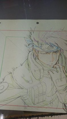 I don't own this majestic piece of art but I know for sure I want to see more of kakashi without his mask Naruto Uzumaki, Kakashi Hatake, Himawari Boruto, Art Naruto, Naruto Sketch, Naruto And Sasuke, Anime Sketch, Kakashi No Mask, Manga Naruto