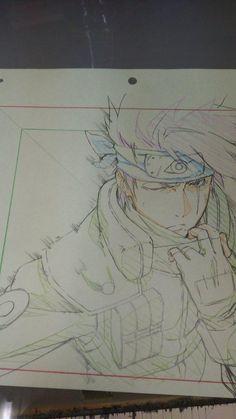 #Naruto #KakashiHatake #Dessin chamarusaku #CrayonDeCouleur #Manga
