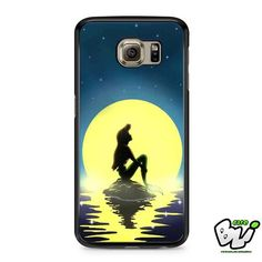 Ariel Mermaid On The Night Samsung Galaxy S7 Case