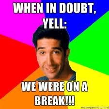 We Were On A Break - Friends Central - TV Show, Episodes, Characters