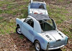 Two of a Kind: 1961 Autobianchi Bianchina - http://barnfinds.com/two-of-a-kind-1961-autobianchi-bianchina/