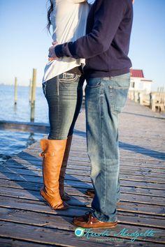 Engagement Photos Downtown Manteo Outer Banks Kristi Midgette Photography www.kristimidgette.com