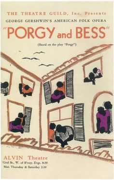 Porgy And Bess Broadway Show Poster Broadway Posters, Concert Posters, Movie Posters, Theatre Posters, Play Poster, Poster Art, Gig Poster, Broadway Plays, Broadway Shows