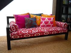 Dolls House Miniature Moroccan Style Daybed by AlicesMiniatures, £14.99