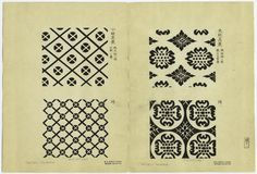 [Textile designs, Japan.] Additional Name(s): Honma, Hyakuri, d. 1854 -- Author