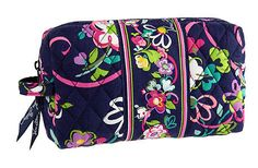 f27fac844082 Vera Bradley Medium Cosmetic in Ribbons  Not too small
