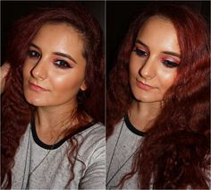 Evolution, Burgundy, Make Up, Makeup, Beauty Makeup, Wine Red Hair, Amaranth Grain, Bronzer Makeup