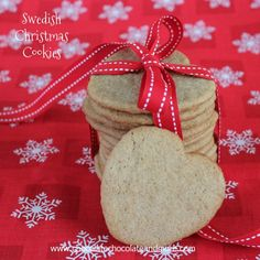 Swedish Christmas Cookies-a delightful blend of spices combine to give you a delicate, tasty cookie Who doesn't like to eat cookie dough? All that fresh butter, sugar, flavoring, sometimes chips or nuts… The flour holding it all together… Sometimes I think the dough is better than the finished cookie. Ok, not usually. Nothing beats a …