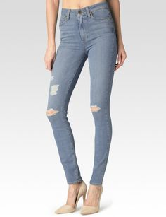 274afcb70bd3d Express Mid Rise Distressed Jean Ankle Legging ($80) ❤ liked on ...