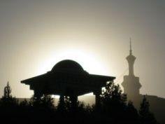 Sunset in Turkmenistan, Ashgabad