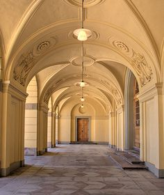 A back entrance, Drottningholm Palace, Stockholm