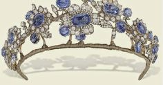 The Barberini Sapphire Tiara So many of the sapphire tiaras we know today are fairly symmetrical, even architectural, in their design, ...