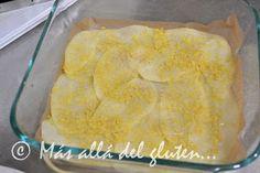 """Más allá del gluten...: """"Lasaña"""" de Papas y Verduras (Receta GFCFSF, Vegana) Whole 30 Dessert, Gluten, Cornbread, Healthy Recipes, Cheese, Ethnic Recipes, Desserts, Food, Natural"""