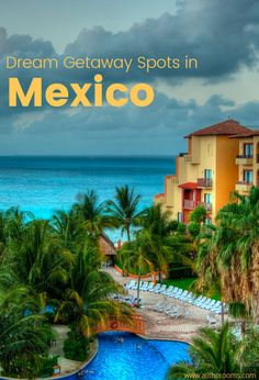 Top destinations in Mexico for spring break.  Between the parties, beaches and sites, you're guaranteed the perfect spring vacation. Travel Mexico.  Ph: Chris Martino https://www.flickr.com/photos/chrismar