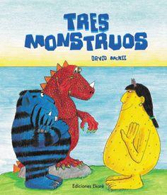 """Dos monstruos, uno azul y otro rojo, que reposan en la playa ven acercarse un bote con un tripulante: otro monstruo, pero amarillo. """"¡Asco!"""", exclaman los dos monstruos. De este encuentro comienza una difícil convivencia en la que algunos creen estar aprovechándose de otros. Una historia para reflexionar, de David McKee."""