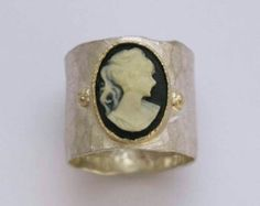 Cameo band on Etsy