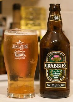 Crabbies Ginger Beer. Really sweet. Great in mixed drinks
