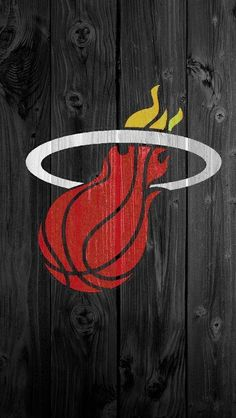 For the fans of #NBA and #Miami #Heat! Get team\'s logo for your #iPhoneWallpaper!  Find out more Sport galleries at iphone5