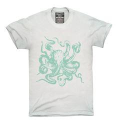 Vintage Octopus T-Shirt, Hoodie, Tank Top