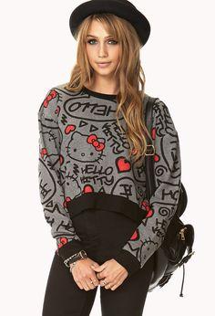 Hello Kitty Sweatshirt   FOREVER21 - 2000075056