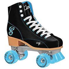 Amazon.com : Roller Derby 1378-02 Youth Boys Firestar Roller Skate, Size 2, Black/Gray : Sports & Outdoors Best Roller Skates, Roller Derby Skates, Roller Skate Shoes, Quad Skates, Speed Skates, Roller Skating, Ice Skating, Skate Girl, Unisex