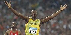 """Photo 26: July 29, 2012 Husain Bolt JAMAICA """"Storylines to Watch at London Games"""" 144X290"""