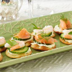 Salmon & Shrimp Pita Appetizers from Stonewall Kitchen