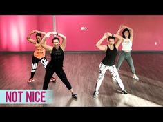 """Shout out to and for the awesome work they did choreographing this new dance fitness routine to """"Not Nice"""" by PARTYNEXTDOOR. Zumba Videos, Dance Videos, Workout Videos, Dance Motivation, Fitness Motivation, Zumba Routines, Dance Choreography, Dance Moves, Dance Fitness"""