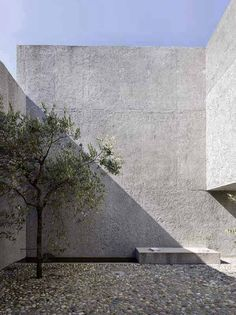 Gallery of House in Brissago / Wespi de Meuron Romeo architects - 13 courtyard / House+in+Brissago++/+Wespi+de+Meuron+Romeo+architects