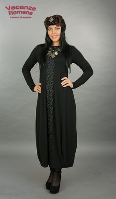 Купить Vacanze Romane-1022 - авторское платье, трикотажное платье, стильное платье, купить платье