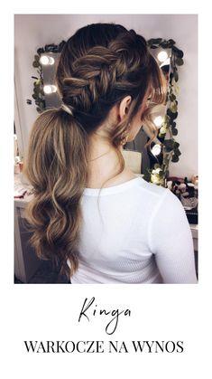 Wedding Ponytail, Hair Wedding, Weeding, Wedding Hairstyles, Hair Makeup, Hair Beauty, Make Up, Long Hair Styles, Wedding Inspiration