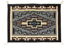 Two Grey Hills Navajo Tapestry, C. 1960 on OneKingsLane.com
