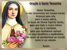 orações santa terezinha
