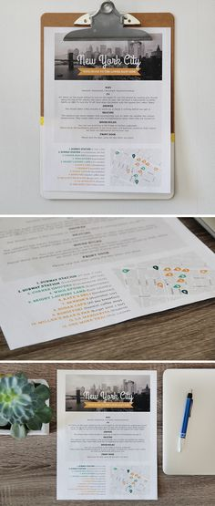 AirBnB host welcome sheet, includes instructions, local map and recommendations. Easy to print at home for your AirBnB guests! / Polkadot Stationery