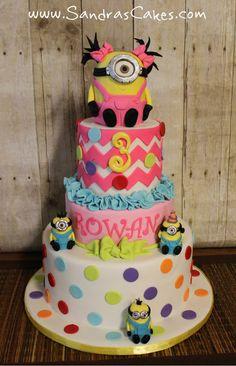Fun Minnion cake.