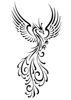 fenix minimalist tattoo - Pesquisa Google