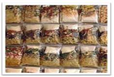 Instructions on vacuum sealing meals for backpacking/ camping, emergency preparedness, etc. Instructions on vacuum sealing meals for backpacking/ camping, emergency preparedness, etc. Emergency Food, Survival Food, Camping Survival, Emergency Preparedness, Survival Tips, Bushcraft Camping, Survival Skills, Prepper Food, Survival Quotes