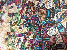 Image result for mayan psychedelic