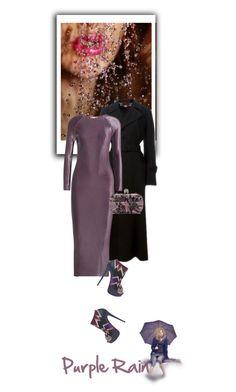 """Purple rain, purple rain..."" by drigomes ❤ liked on Polyvore featuring STELLA McCARTNEY, Barbara Casasola, Alexander McQueen, Christian Louboutin, women's clothing, women, female, woman, misses and juniors"