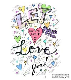 Lyric illustration of #LetMeLoveYou by #justinbieber  This song always gets stuck in my head  . . .  #lyrics #lyricart #illustration #illustrator #artist #art #lyricseries #artistsofinstagram #music #popmusic #top40 #radio #colors #colorful #bright #love #bieber #bieberfever #drawing #draw #sketchbook #sketch #pen #ballpointpen #dailysketch #confetti #balloons #justin