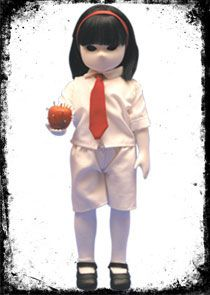 Little Apple Dolls Series 2: Mentis. Now available for $30 (€ 25). Mentis is 14 inch (35 cm) and comes with an apple and her own little story book.
