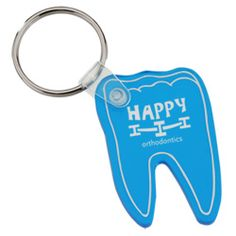 No cavities on custom keychains -- just lots of advertising possibilities!